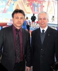 Алексей Тихоньких и заслуженный тренер СССР Геннадий Никифорович Столяров